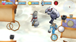 Frosty The Assassin uses the mazes streets, icicles and snowballs to avoid capture.