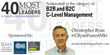 """Christopher Ryan Nominated for Sales Lead Management Association's """"40 Most Inspiring"""""""