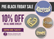 Gold Name Jewelry - Black Friday