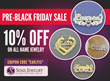 SoulJewelry.com Customers Will Get 10% Off All Gold Monogramed Jewelry For Pre-Holiday Sale 2015