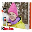 Calendrier photo de l'Avent avec des chocolats kinder® friends