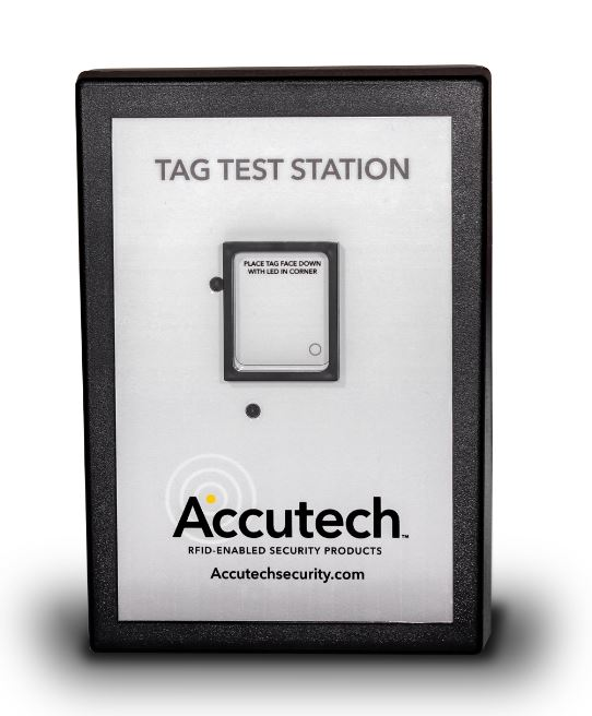Accutech Tag Test Station Brings Never Seen Functionality