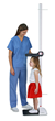 DETECTO's new PHR Free-Standing Portable Height Rod