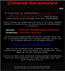 Ransomware encrypts your files