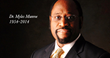 Destiny Image Announces - A Tribute to Dr. Myles Munroe