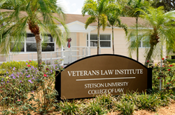 Stetson's Veterans Law Institute was dedicated in 2012.