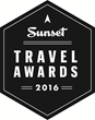"Submissions are Now Welcome for Sunset Magazine's Second Annual ""Sunset Travel Awards"" Recognizing the West's Premier Destinations for 2016"