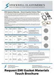 EMI Gaskets Touch Brochure from Stockwell Elastomerics