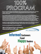 The Industry's Only 100% Contact Program for Buyers
