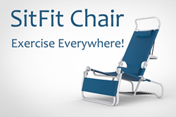 sitfit chair, portable fitness chair, kickstarter campaign
