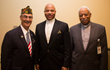 Vito Pinto, former director, Westchester County Office of Veterans Affairs and keynote speaker Reverend (Major) Anthony S. Montague, US Army, Retired at the sixth annual Veterans Breakfast, hosted by