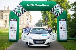 Peugeot 208 wins real-world 2015 MPG Marathon
