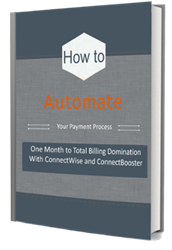 connectwise connectbooster payments processing accounting