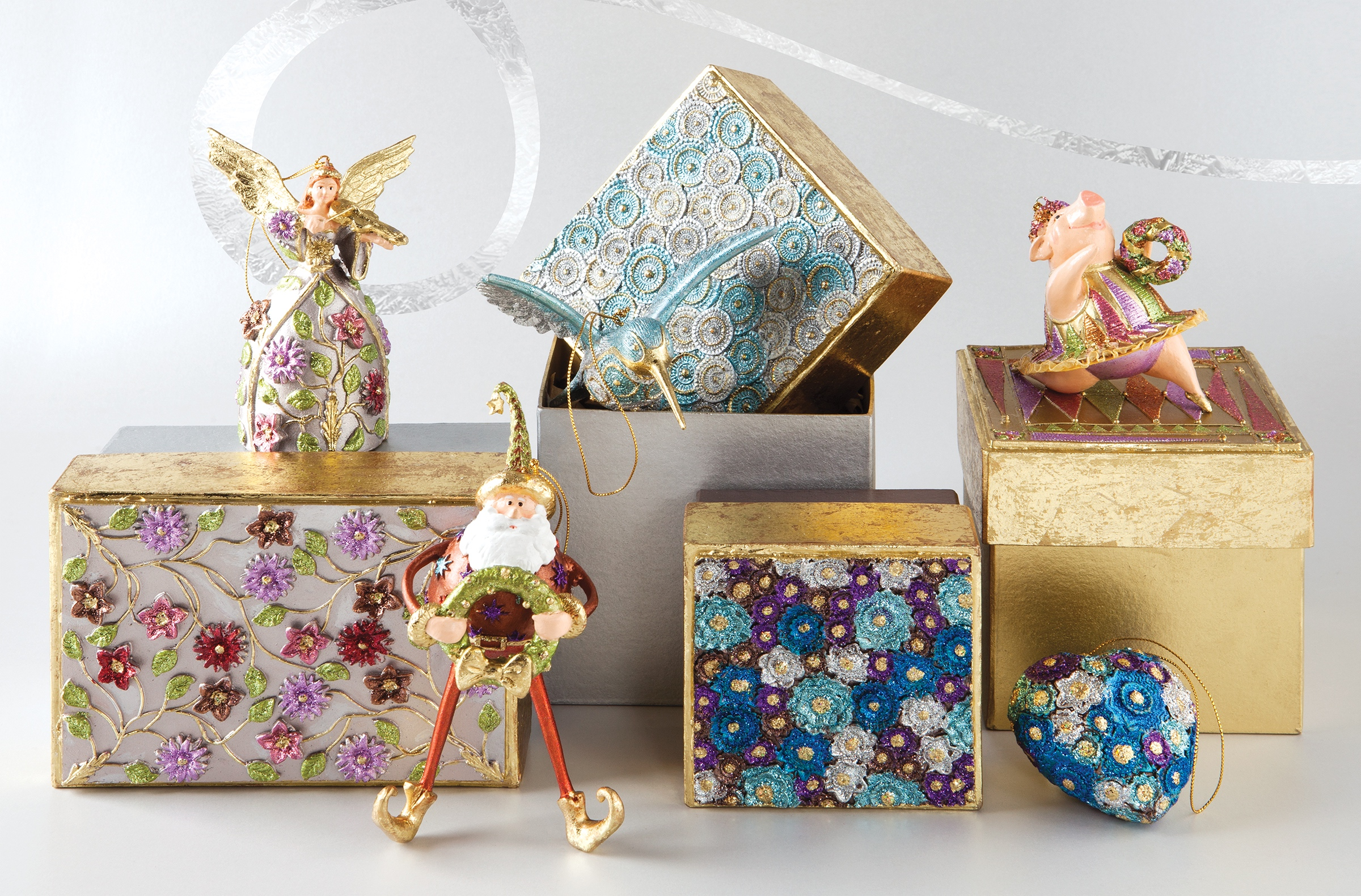 signature ornaments return to papyrus for the holiday season
