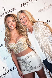 Olivia Newton-John and daughter, Chloe Lattanzi (Photo by Garrett Bridwell)