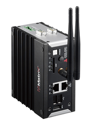 ADLINK's MXE-100i Intel® Quark™ Processor-based IoT Gateway