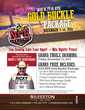Win 2016 NFR Gold Buckle Package at Silverton Casino Hotel