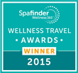 New Life Hiking Spa, SpaFinder Wellness Award Winner for 2015