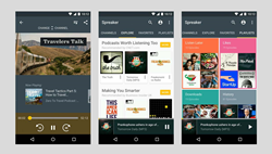 Introducing the new Spreaker Podcast Radio for Android