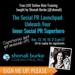 Ad for The Social PR Launchpad