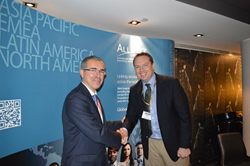 Antonio Paula Varela with Alliott Group CEO James Hickey in New York