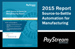 Xeeva Featured as a Leader in PayStream Advisors' 2015 Source-to-Settle Solutions for Manufacturing Report