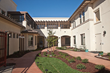Italianate Courtyard designed by University of California Berkeley Professor Emeritus Clare Cooper Marcus