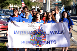 Human Rights Walk in tribute of Human Rights Day