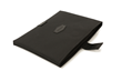 Scarlett iPad Pro Sleeve—black ballistic nylon; invisible magnet closure