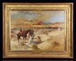 "Lot 1011- Frederick Arthur Bridgman O/C "" Desert Travelers"""