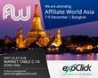 ExoClick to attend Affiliate World Asia, Bangkok