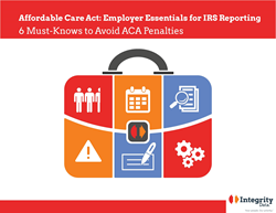 cover of Integrity Data e-book_ACA Employer Essentials for IRS Reporting