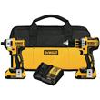 DEWALT 20V MAX XR 2-Tool Combo Kit