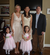The Ghelerter family welcomed a Chinese Au Pair to care for their adopted twins from China.