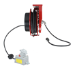 General Area Cord Reel Equipped with 50' Cable and Explosion Proof Receptacle
