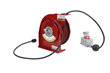 Industrial 50' Cord Reel with Explosion Proof Outlet