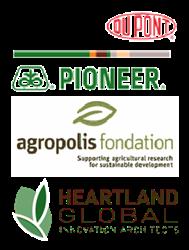 DuPont-Pioneer-Agropolis-Foundation-Heartland-Global-Logos