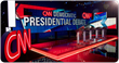 Data Display Audio Visual Votes for Christie MicroTiles at CNN Democratic Party Presidential Debate in Las Vegas