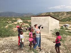 Friendly Human Film Crew in Haiti