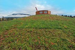 The New Splatsin Community Center is Home to this Living Roof by LiveRoof