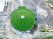 A Bird's-Eye View of the Community Center's Green Roof