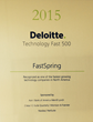 FastSpring Named to 2015 Deloitte Technology Fast 500 List