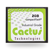 Cactus 203 Series Industrial Grade Compact Flash Exceeds 10 Year Product Life