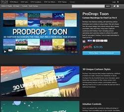 Pixel Film Studios ProDrop Toon Plugin.
