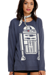 This is the Star Wars sweater you've been looking for featuring everyone's favorite little droid, R2-D2, part of the new Star Wars Collection from Her Universe & Hot Topic.
