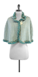 Missoni Cream & Blue Wool Cape $198.99