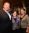 Steve Shanton, Donna Cleary and Kim Ogden at Holiday Shopping Event to benefit The ALS Association Greater Philadelphia Chapter (Photo by Lisa Lake/Getty Images for David Yurman)