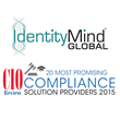 IdentityMind Global Ranked as Most Promising Solution Provider in CIO Review's 2015 Compliance Issue