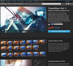 Pixel Film Studios TransGlass Volume 2 Plugin.