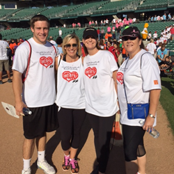 McCaffrey Homes Tesoro Viejo Team Central Valley, California American Heart Association Heart Walk Oct 2015